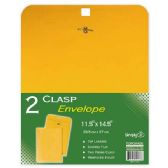 "96 Units of Clasp envelopes 11.5x14.5""/2 count - Envelopes"