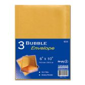 "96 Units of Bubble envelope 6x10""/3 count - Envelopes"