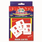 96 Units of Flash Card Division - Classroom Learning Aids