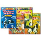 96 Units of Info With Stickers Book - Coloring & Activity Books