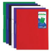 96 Units of Swing lock report cover letter size/assorted color