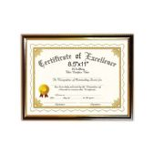 144 Units of Certificate frame 8.5x11""