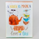36 Units of Wall Decor 16x12 Mdf (16.50) House Made A Home W/love And Tea