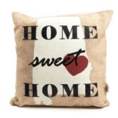 36 Units of 12 X 12 Alabama Burlap Cover Pillow