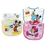 72 Units of Disney Mickey Baby Small Bibs - Baby Apparel