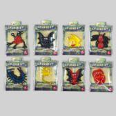 96 Units of Halloween Creepy Sticky Creature 8asst Styles/12pc Merchstrip 4styles Per Strip/pbh