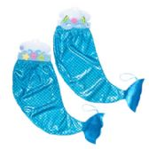 48 Units of Costume Mermaid Skirt W/flt Mask Or Tiara 4ast 10x22in Ht/hdrcrd