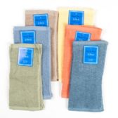 144 Units of Wash Cloth 2pk 12x12 5 Asst Colors