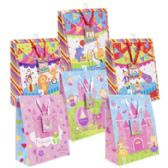 72 Units of Gift Bag Lg Circus/princess 6asst 10 X 12.5 X 5in
