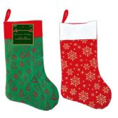 "96 Units of Xmas stocking 18"" - Christmas Stocking"