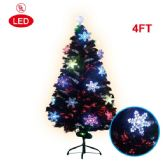 2 Units of 4 Foot pre-lit tree/star - Christmas Ornament