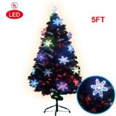2 Units of 5 Foot pre-lit tree/star - Christmas Ornament