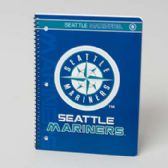 108 Units of 1 Subject Seattle Mariners Classic Notebook