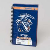 112 Units of Utep Miners SPIRAL BOUND JOURNAL 5.25X8.5