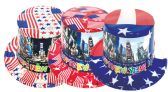 144 Units of New year american hat - New Years