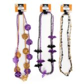 96 Units of 2pk Halloween Beaded Necklace