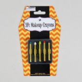 96 Units of 5pc/5colors Makeup Crayon Kit - Costume Accessories