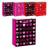 "96 Units of V-day bag HS 10.5x13x5.5""/Large - Valentine Gift Bag's"
