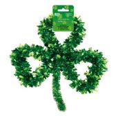 "96 Units of 13"" Ttinsel shamrock - St. Patricks"