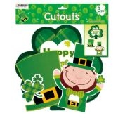 96 Units of 3 Piece St.patrick cutout - St. Patricks