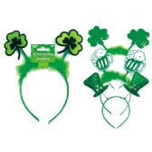 96 Units of St.patrick's headband - St. Patricks