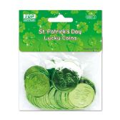 96 Units of St.Patrick's lucky coins - St. Patricks