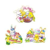 "96 Units of 19"" Easter 3D cutout - Easter"