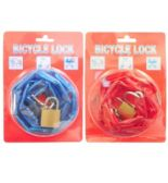 48 Units of Bicycle Lock Chain w. Brass Lock