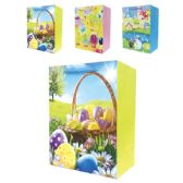 96 Units of 3D Easter bag 10.5x13x5.5/Large