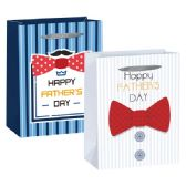 96 Units of Father's day 3D Gift Bag/Large - Gift Bags Everyday