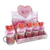 96 Units of M-day heart+mug set