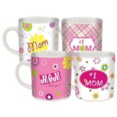 480 Units of Mom day mug assorted design. 12oz