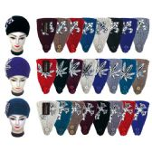 48 Units of Knit Head Band With Flower