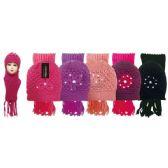 48 Units of Lady's scarf hat set