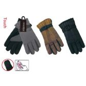 48 Units of Men's touch gloves - Conductive Texting Gloves