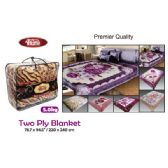 "6 Units of 5kg 2-Ply blanket/King 75x91""/190x230cm"