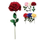 """72 Units of 28"""" Rose assorted Colors - Artificial Flowers"""