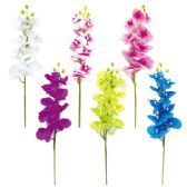 24 Units of Orchid Assorted Color - Artificial Flowers