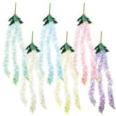 48 Units of Flower Cane Assorted Color - Artificial Flowers
