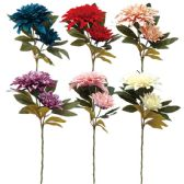 48 Units of Flower Assorted Colors - Artificial Flowers
