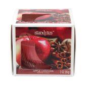 72 Units of Apple cinnamon candle 3oz