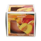 72 Units of Peach candle 3oz