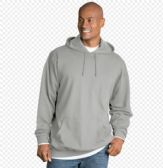 24 Units of Big Man Hooded Pullover Sweatshirt