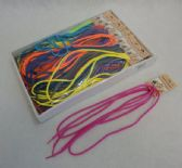 """72 Units of 54"""" Round Shoe Strings [Colored] - Footwear Accessories"""