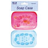96 Units of Two Piece soap case - Soap Dishes & Soap Dispensers