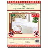 "24 Units of Zipped mattress cover/Queen 80x60x10"" - Bed / Sheet Sets"