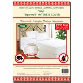 "24 Units of Zipped mattress cover/Twin 75x39x10"" - Bed / Sheet Sets"