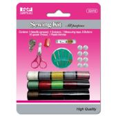96 Units of Sewing kit set - SAFETY PINS