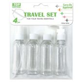 72 Units of Four Piece Travel Set - Travel & Luggage Items
