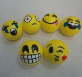 "72 Units of .4"" Large Emoji Squish Ball"